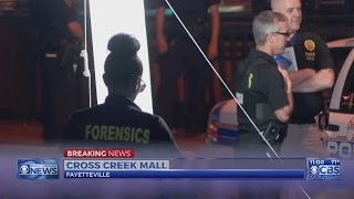 Man shot outside restaurant at Cross Creek Mall in Fayetteville(Man shot outside restaurant at Cross Creek Mall in Fayetteville., 2016-05-11T03:23:42.000Z)