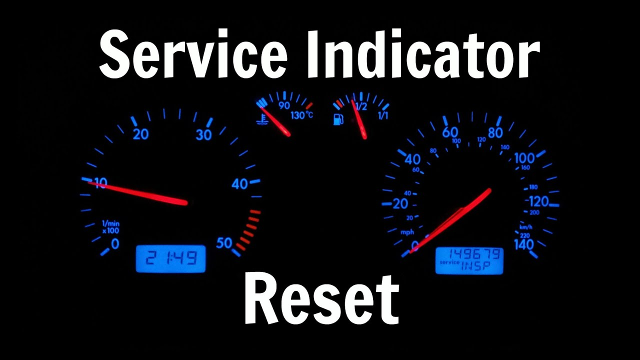 VW T4 Transporter Service Indicator Reset - OIL INSP Light Clear