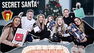 £150 SECRET SANTA PRESENT SWAP!! (OPENING CHRISTMAS PRESENTS EARLY) ft. DadvGirls