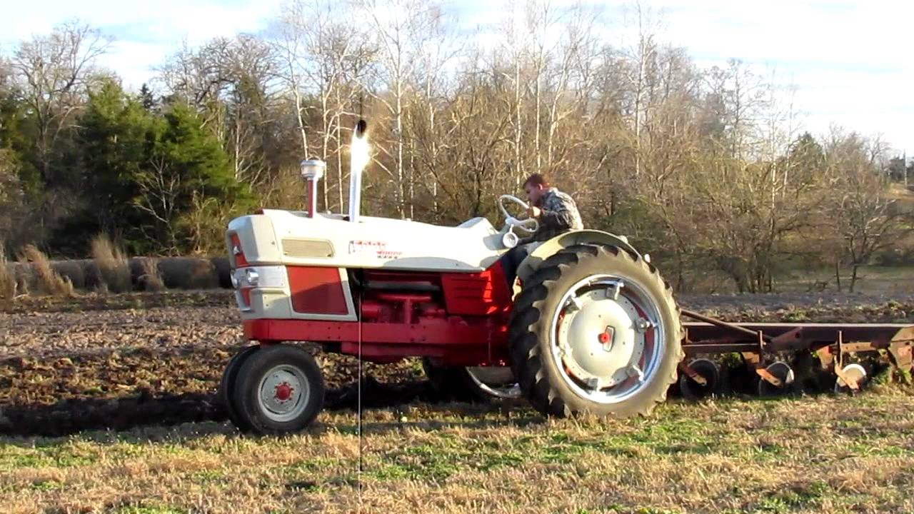 1961 Ford 6000 Plowing Avi Youtube