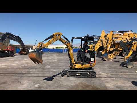 CAT Micro 301.7D Excavator