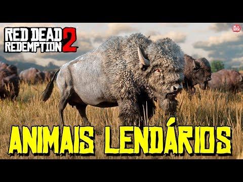 RED DEAD REDEMPTION 2 - CAÇANDO ANIMAIS LENDÁRIOS    SEM SPOILERS!