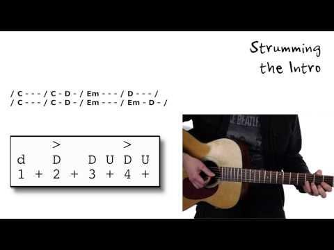 """""""Let Her Go"""" by Passenger - Guitar Lesson - Beginner to Intermediate Level"""