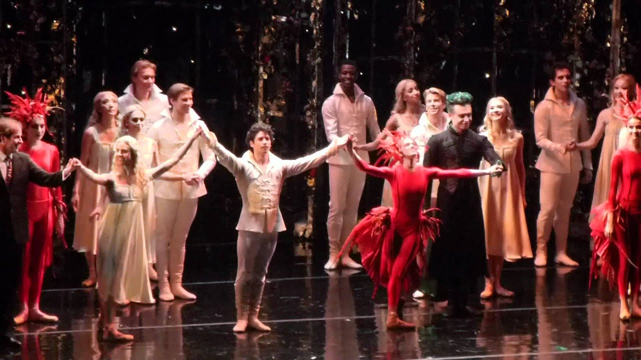 Firebird ballet curtain call by American Ballet Theatre 4