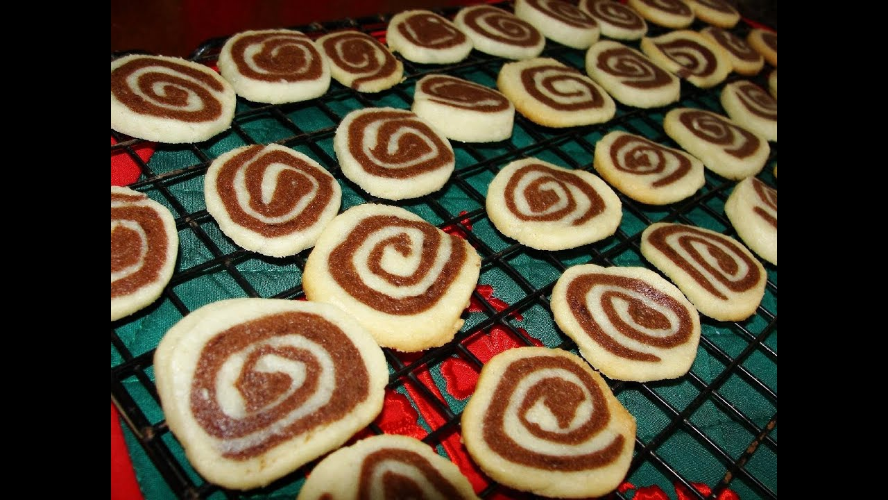 Chocolate Pinwheel Cookies Christmas Baking With Mom