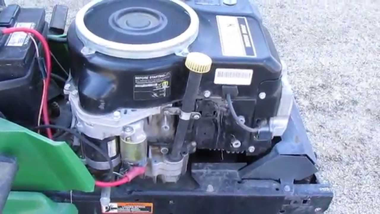 LX172 14hp kawasaki OHV - YouTube