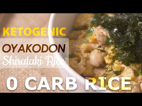 keto-easy-asian-recipe-|-0-carb-rice---ketogenic-oyakodon-|-15-minutes-meal-|-no-cauliflower-|-asmr