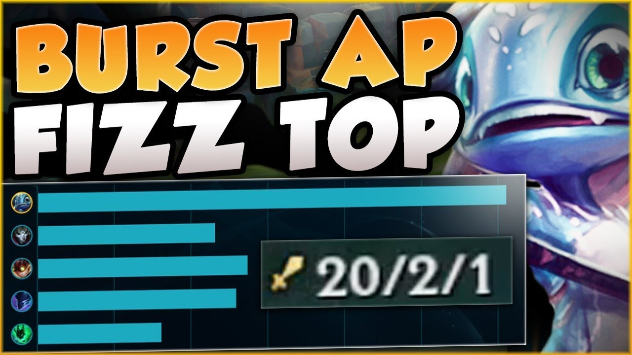 One Man Army Fizz Who Needs A Team With This Fizz Build Fizz Top