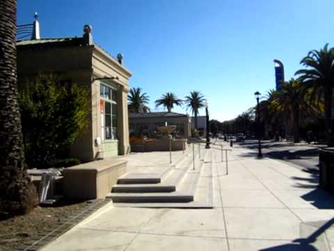 Sunday morning in Redwood city, California