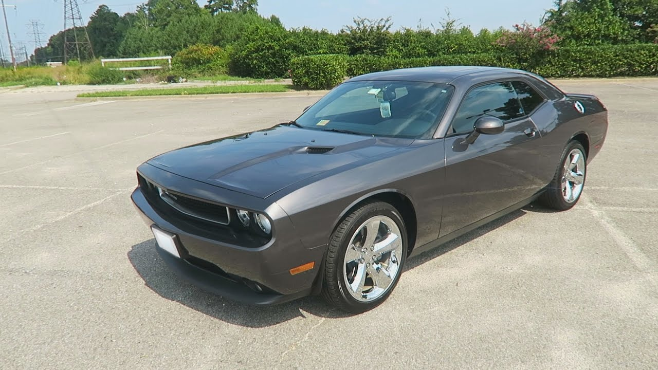 2016 Dodge Challenger Sxt Plus >> 2014 Dodge Challenger SXT PLUS Review - YouTube