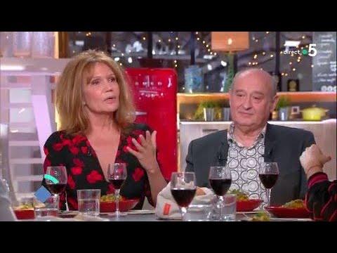 Dîner avec Clémentine Célarié et Michel Jonasz - C à Vous - 07/02/2018