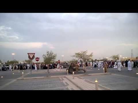 CANNON BLAST - END OF RAMADAN FAST - DOHA 27-Aug-2014