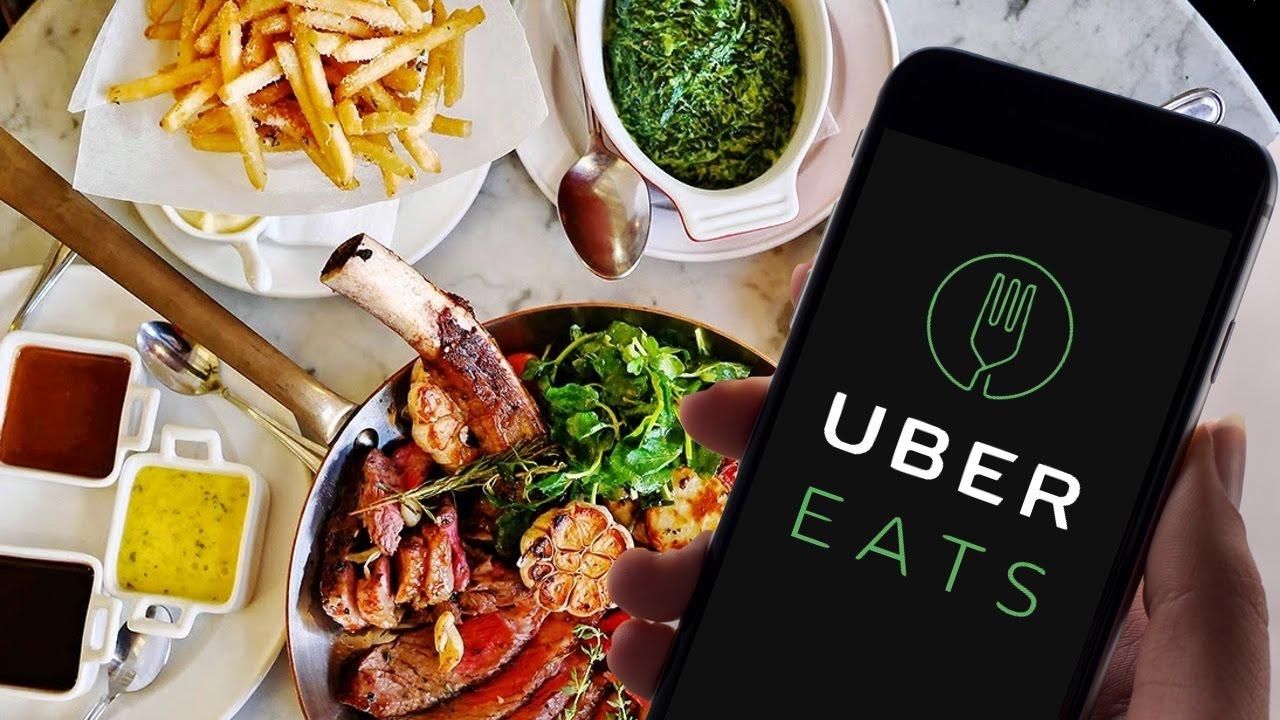 Test de Uber Eats : Application de Livraison de Repas - YouTube