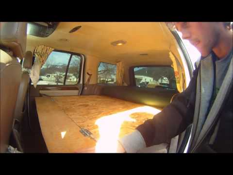 Ford Explorer Camper Kit Youtube