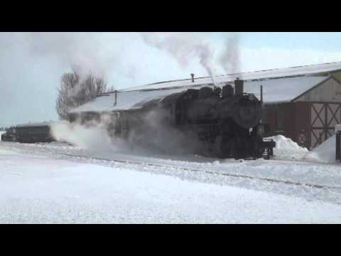Thumbnail: Strasburg Railroad Snow Plow 2014