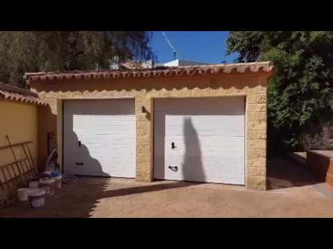 Exterior painting works in Marbella