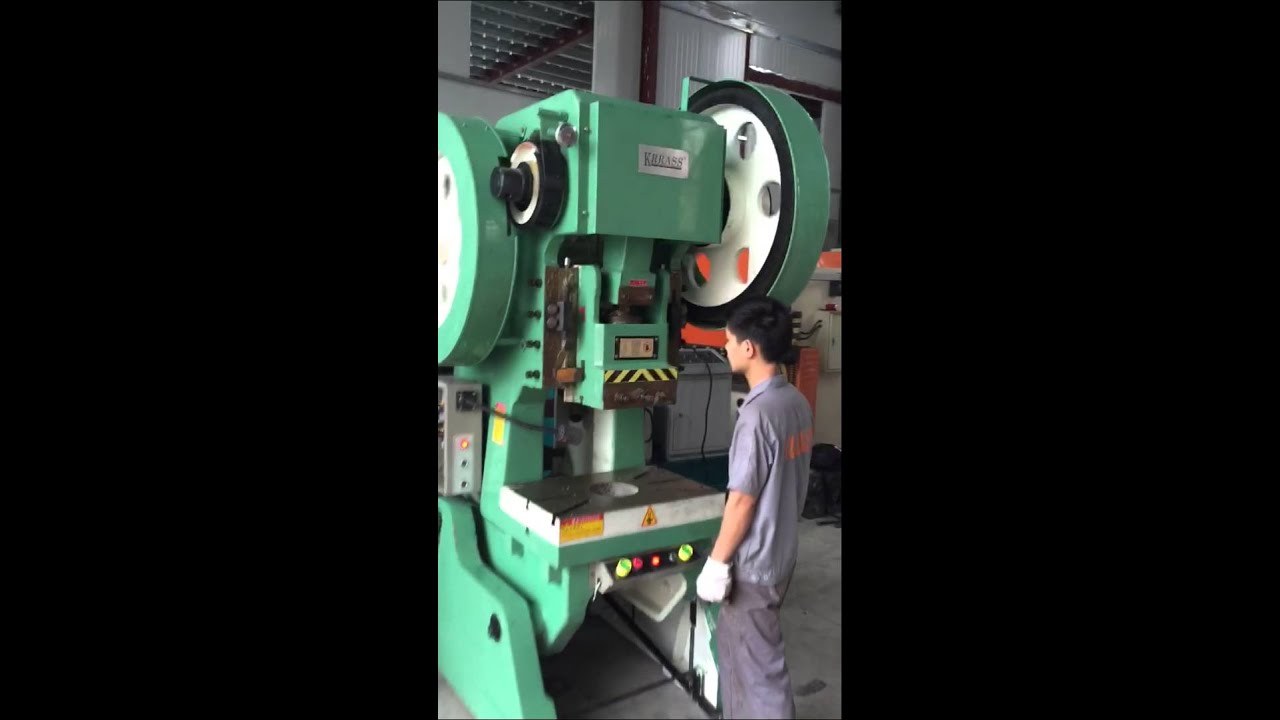 J23 Mechanical Stamp Machine Running Video Yangli Krrass