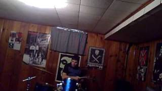 Ramones drum cover- Glad to see you go