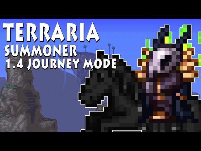 Golem and Hardmode Events (Summoner Build) [1.4 Journey Mode]
