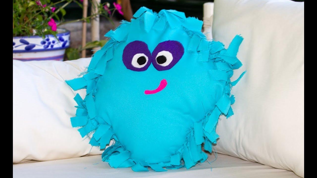 Como hacer un cojin sin coser moshi monster super facil - Como hacer almohadones ...