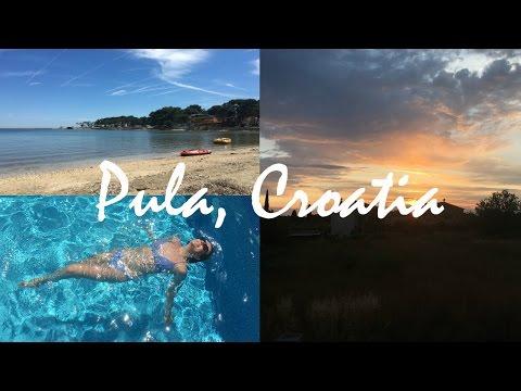 PULA, CROATIA VLOG // Vegan Travel Diaries