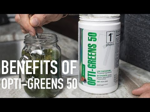 The Benefits of Taking Opti-Greens 50