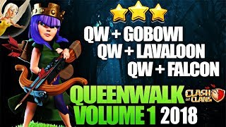 Th10 QueenWalk Series Vol 1 | Falcon Lavaloon GoBoWitch Best Queenwalk Strategies Clash Of Clans