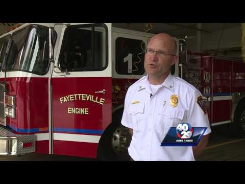 Fayetteville fire marshal talks fireworks safety