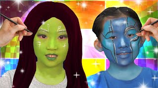AWESOME Avengers Face Paint Song! | Funtastic Playhouse