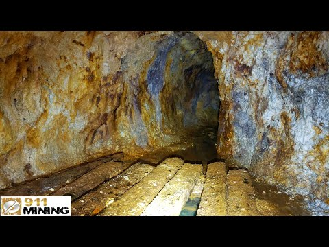Exploring An Abandoned Old Mine With Platinum, Palladium & Gold!