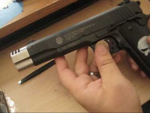 Compensator Installation For The 1911  45acp ( Drop-In Style )