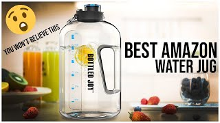 BOTTLED JOY 1 GALLON WATER JUG REVIEW (YOU WON'T BELIEVE THIS)