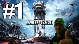 Star Wars Battlefront Beta Gameplay #1 - Master Blaster (PC)