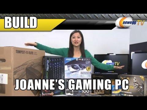 Newegg TV: Joanne's New Gaming Computer Build