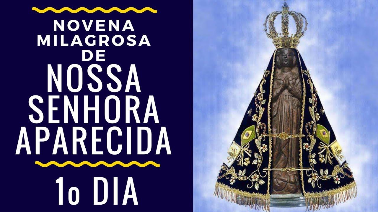 Papel De Parede Nossa Senhora Aparecida: Novena Milagrosa De Nossa Senhora Aparecida