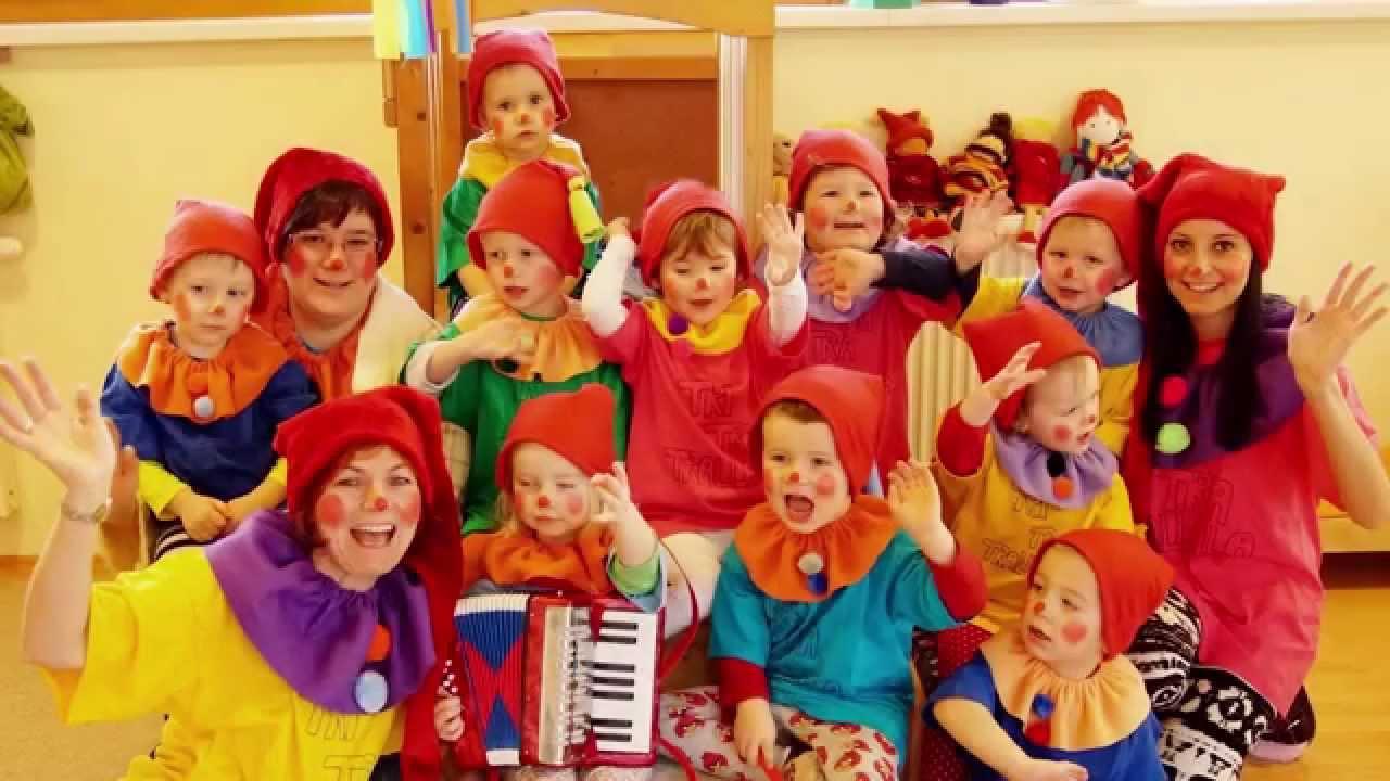Kasperlfest Lieder Spiele Deko  MINIS Kinderkrippe KITA