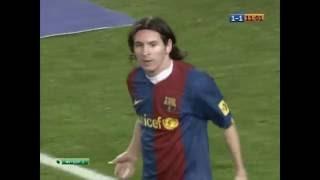Чемпионат Испании 2006/2007. 10.03.2007. Тур-26. Барселона - Реал Мадрид. Все действия Месси