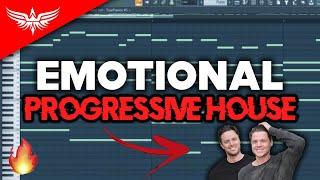 How To Make EMOTIONAL Progressive House - FL Studio 20 Tutorial