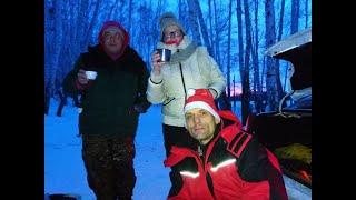 В отличной компании на озере Сунгуль Челябинской области
