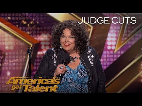 Vicki Barbolak: Comedian Delivers Hilarious View On Having Kids - Americas Got Talent 2018