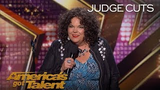 Vicki Barbolak: Comedian Delivers Hilarious View On Having Kids - America's Got Talent 2018