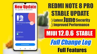 Redmi Note 8 Pro NEW UPDATE MIUI 12.0.6.0 | Full Changelog and Features | Android 11 Update ?