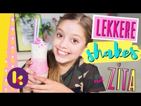 Lekkere milkshakes en smoothies met Zita