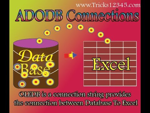 Excel VBA: AdOdb Connections Excel As Database: Retrieve Data by using SQL