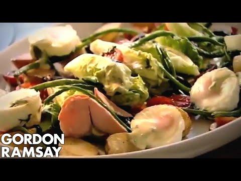 Salmon Salad Nicoise (Part 3) Gordon Ramsay
