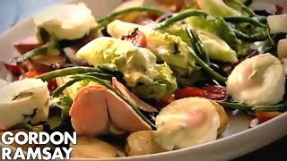 Salmon Salad Nicoise (part 3) - Gordon Ramsay