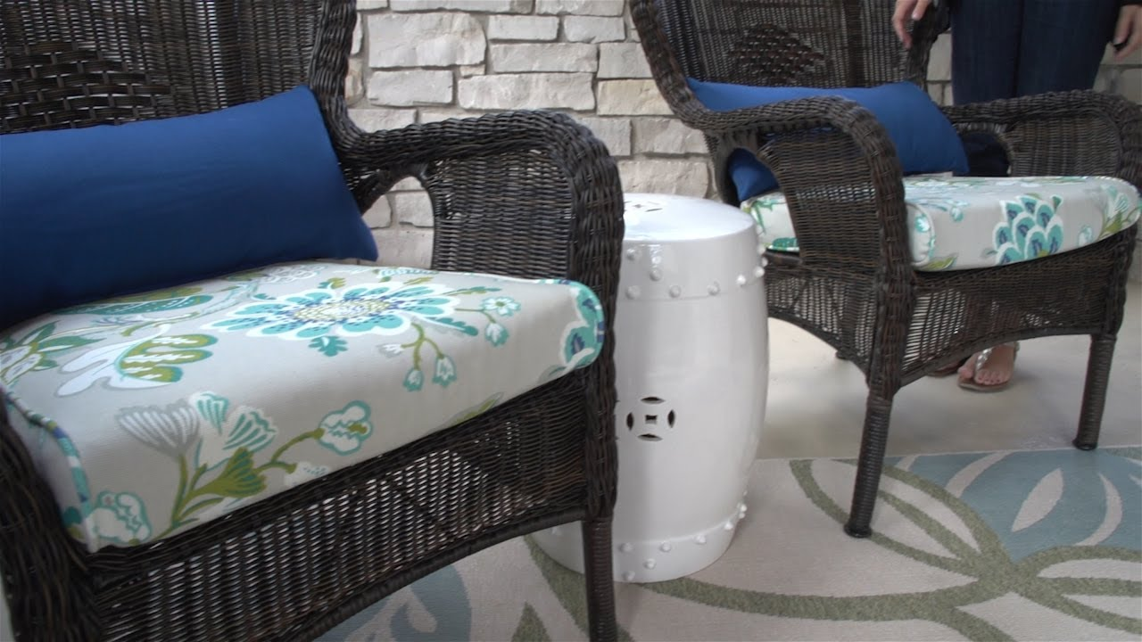Make Box Seat Covers For Patio Furniture