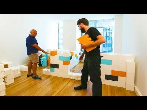 Construcción con Legos Gigantes