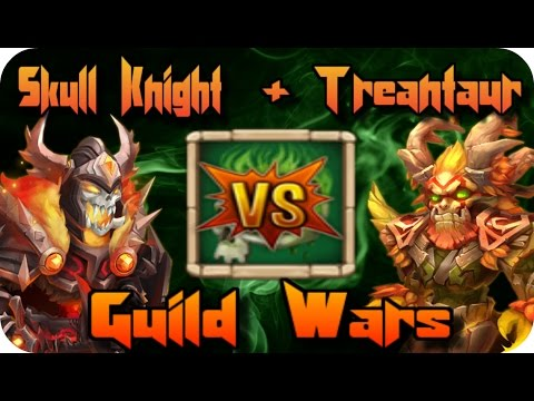 5/5 Corrode Skull Knight & Treantaur Vs. Guild Wars!