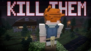Trying to escape the scariest Killer in Minecraft !! - (Friday the 13th Minecraft)